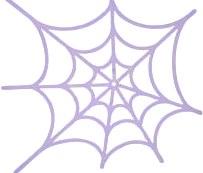 spinneweb voor stempel