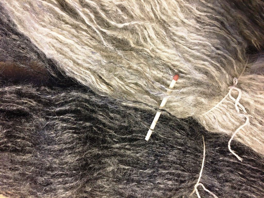 handgesponnen gotland wol håndspundet gotlanduld